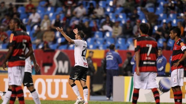 Danilo, Jogadores cabisbaixo, flamengo x Corinthians (Foto: Alexandre Vidal / Fla Imagem)