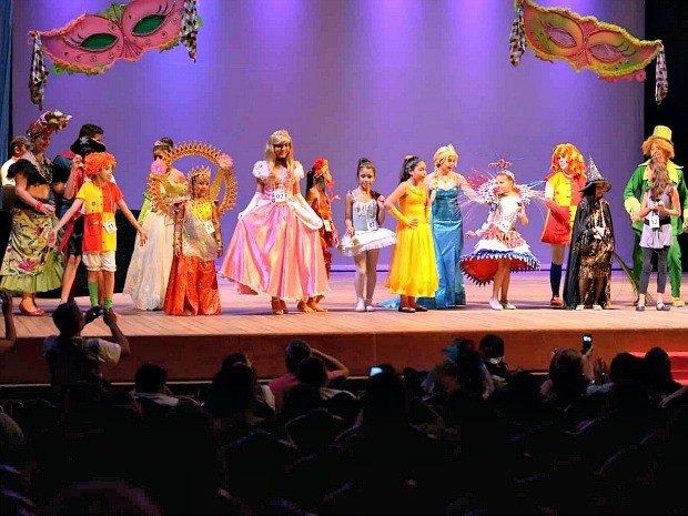 fotos jardim cultural:Em concurso, crianças se destacam com fantasias de lendas amazônicas