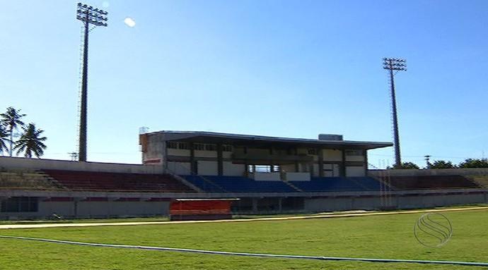 Estádio Francão; Estância (Foto: Reprodução/TV Sergipe)