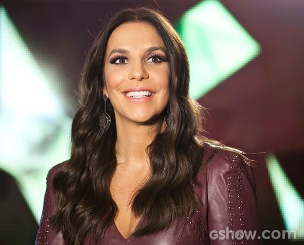 Ivete Sangalo revela planos para atuar no cinema em breve (Foto: Dafne Bastos/TV Globo)