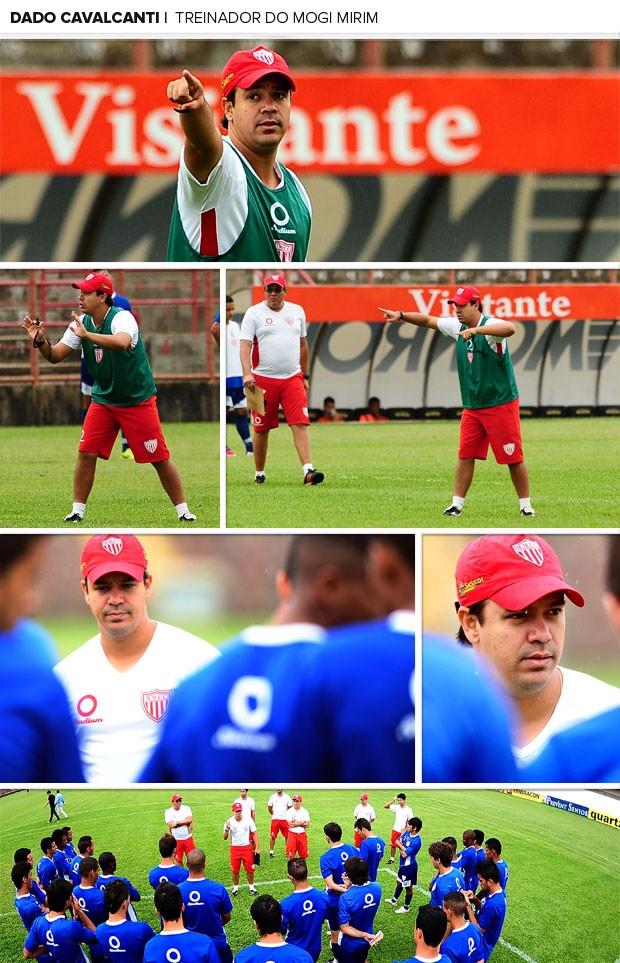 MOSAICO Dado Cavalcanti mogi mirim treino (Foto: Marcos Ribolli / Globoesporte.com)