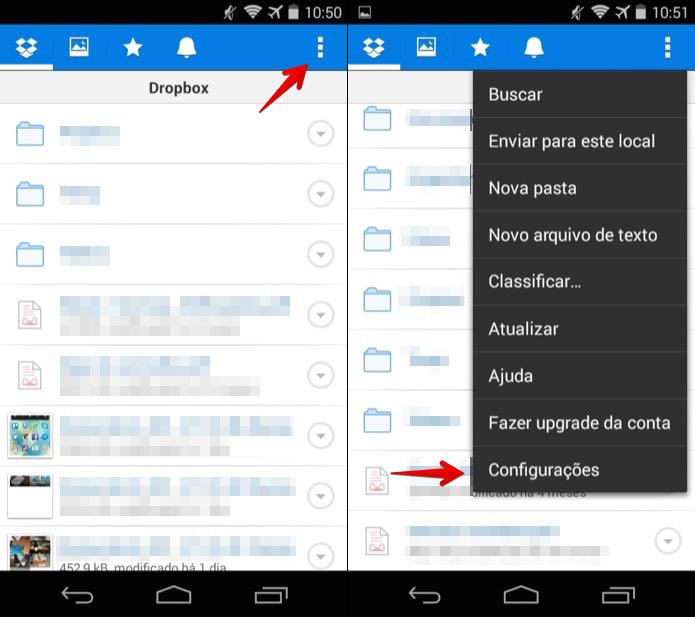 Acesse as configurações do aplicativo (Foto: Reprodução/Helito Bijora)  (Foto: Acesse as configurações do aplicativo (Foto: Reprodução/Helito Bijora) )