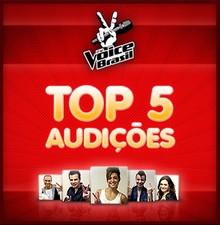 top 5 enquetes audições (Foto: The Voice Brasil/TV Globo)