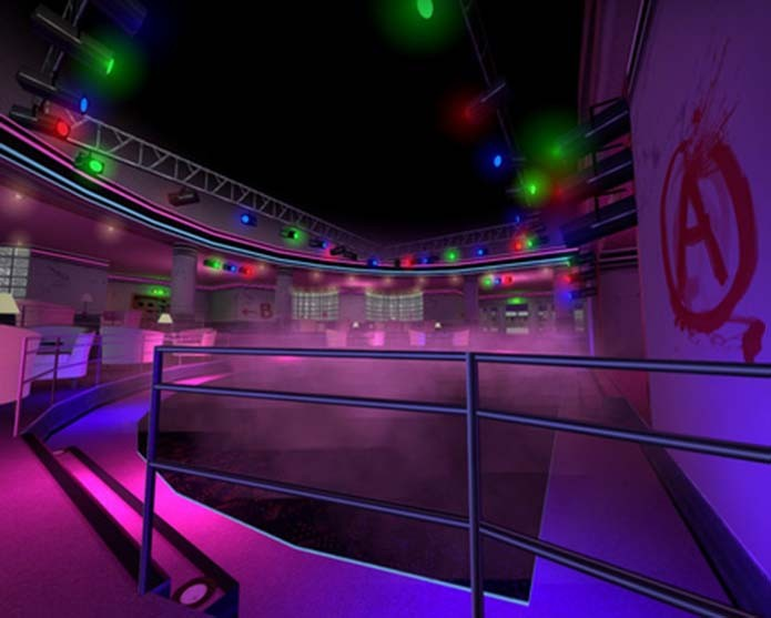 Danceteria de GTA: Vice City está em CS:GO (Foto: Divulgação/Valve)
