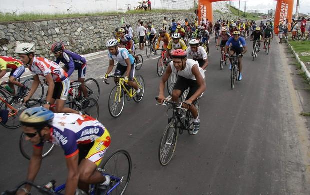 Campeonato Maranhense de Ciclismo, em São Luís (Foto: Paulo Soares/O Estado)