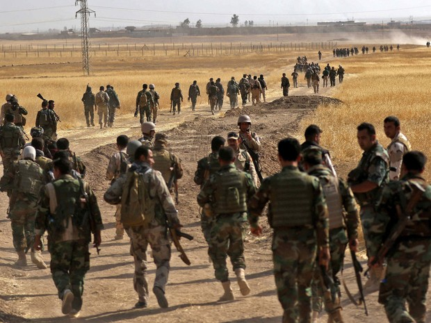 Ofensiva em Mossul mobiliza 30 mil militares