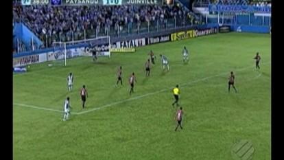 Veja os melhores momentos de Paysandu 1 x 0 Joinville