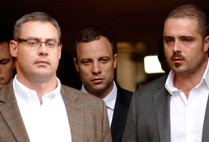 Julgamento Oscar Pistorius (Foto: Reuters)
