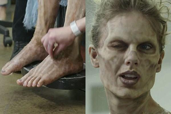 Dos pés à cabeça, Taylor se transformou radicalemente (Foto: Reprodução)