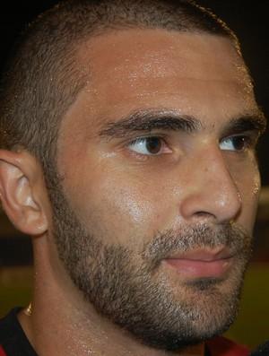 Dudu Medeiros, meia do Campinense (Foto: Silas Batista / GloboEsporte.com)