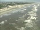 Praias atingidas por vazamento de óleo no RS são liberadas para banho