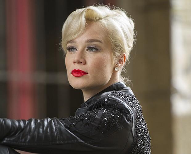 Aurora (Mariana Ximenes) na novela 'Joia Rara' em 2014 (Foto: Estevam Avellar / TV Globo)