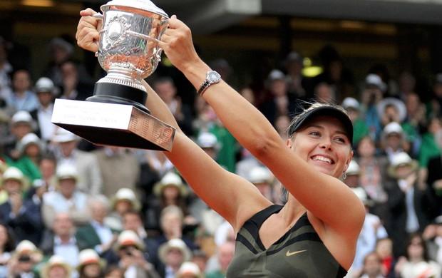 tênis maria sharapova Roland garros (Foto: Agência Reuters)