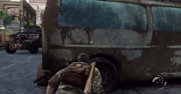 Observe o tanque (Foto: Reprodução/YouTube)
