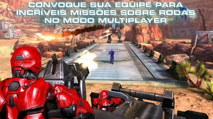 N.O.V.A 3 agora tem versão gratuito e que pode ser jogada offline (Foto: Divulgação)
