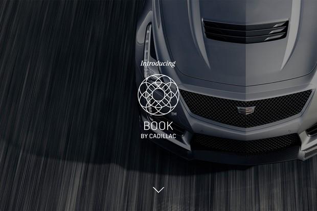 Book by Cadillac é o serviço de assinatura mensal para os carros da marca (Foto: Reprodução)