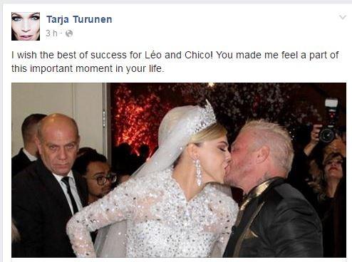 Tarja Turunen  (Foto: Facebook / Reprodução)