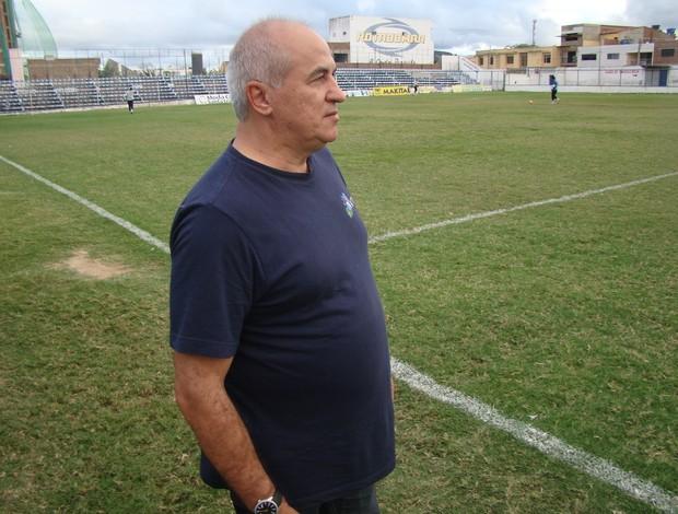 José Rivaldo presidente do Ypiranga-PE (Foto: Vital Florêncio / GE.COM/CARUARU)