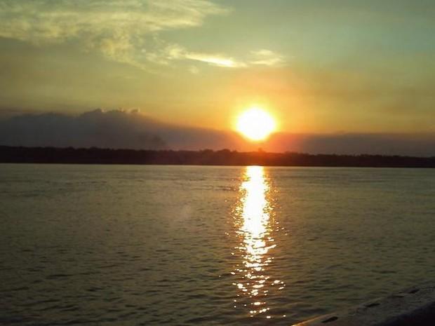 Sol e calor forte em quase todo o estado de Rondônia (Foto: Suzi Rocha/G1)