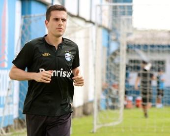 marcelo grohe grêmio pré-temporada gramado (Foto: Lucas Rizzatti/GloboEsporte.com)