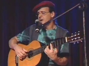Músico em apresentação de 2005, em São José. (Foto: Reprodução/TV Univap)