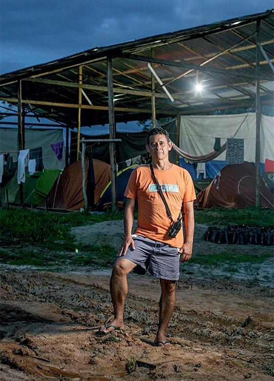 Edson Caldas, pioneiro e também um dos criadores da ONG EDS  (Foto: Rogério Cassimiro/ÉPOCA)