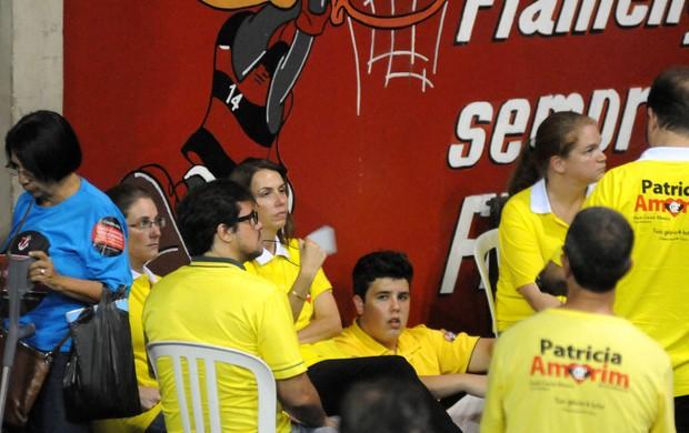 Patricia Amorim eleições Flamengo (Foto: André Durão / Globoesporte.com)