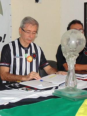 Nelson Lira, eleição do Botafogo-PB (Foto: Divulgação / Botafogo-PB)