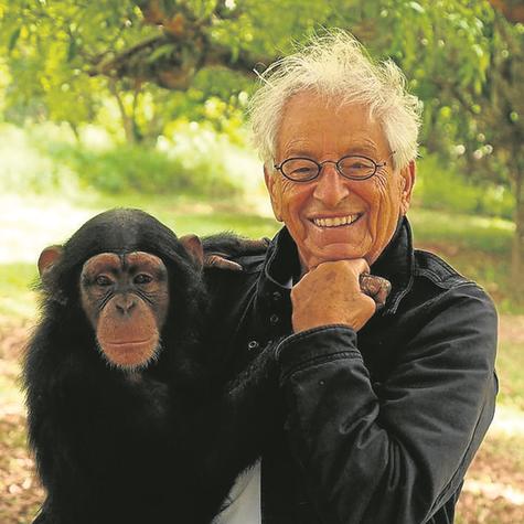 Fernando Gabeira visitou um santuário de grandes primatas em Sorocaba, no interior de São Paulo (Foto: Divulgação)