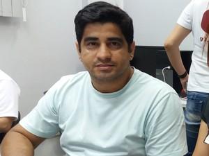 Rafael Gomes, fiscal agropecuário da Diagro em Macapá (Foto: John Pacheco/G1)