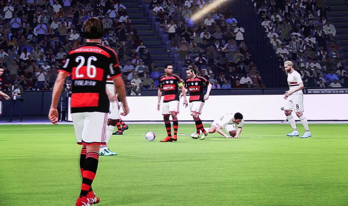 f14544f31cdd8 Jogadores géricos de Flamengo e São Paulo em PES 2015 (Foto  Matheus  Vasconcellos   Jogadores genéricos ...