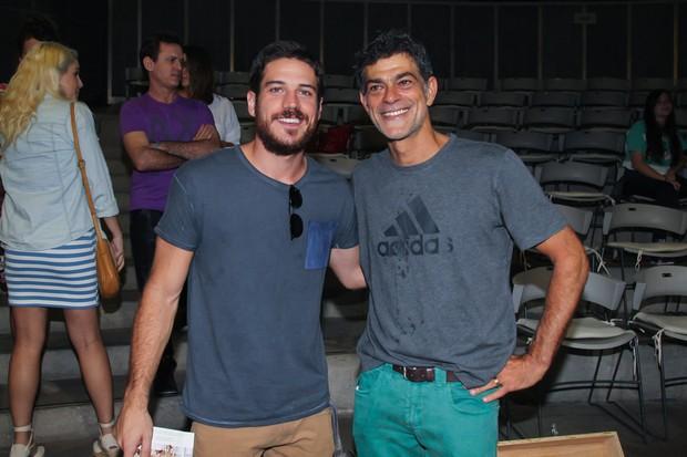 Marcos Pigossi e Eduardo Moscovis (Foto: Manuela Scarpa/Brazil News)
