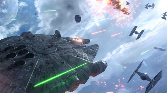 Prepare-se para subir a bordo da Millenium Falcon novamente em 2017 com sequência de Star Wars Battlefront (Foto: Reprodução/Gematsu)