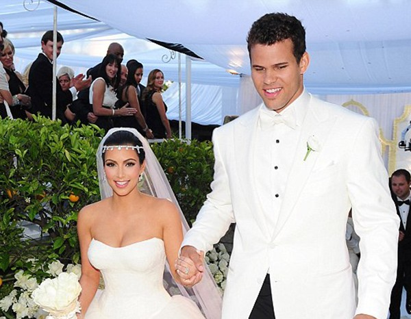 Kim Kardashian e Kris Humphries (Foto: Divulgação / Keeping Up With The Kardashians)