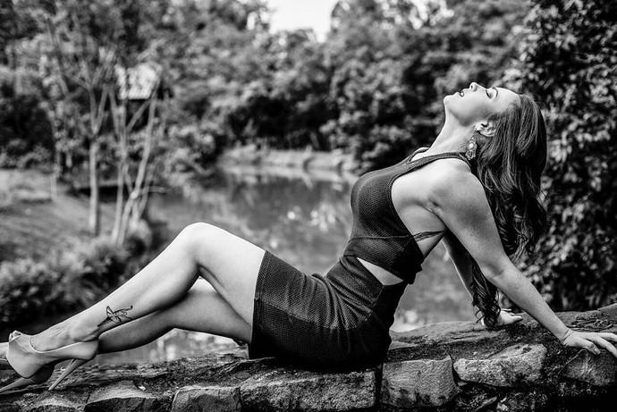 A bailarina é para marcar a escolha de carreira! (Foto: Arquivo Pessoal)