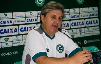 Kleina diz conhecer o Paraná e pede atenção para Goiás vencer mais uma