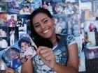 Lia, filha do saudoso Claudinho, se lança como cantora e mostra arquivo de fotos com o pai