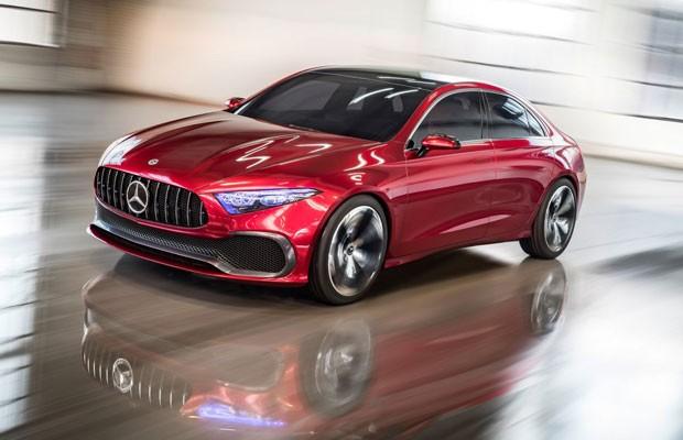 Mercedes Sedan A Concept (Foto: Divulgação)