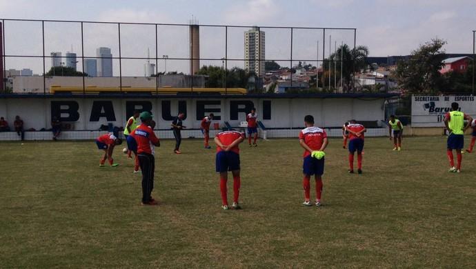 Grêmio Prudente em Barueri (Foto: Grêmio Prudente / divulgação)