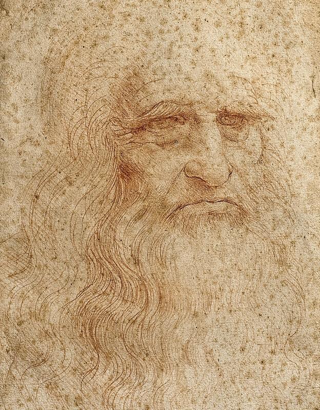 """Autorretrato de Da Vinci possui """"poderes mágicos""""? (Foto: Reprodução)"""