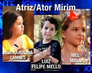 Atores Mirins (Foto: Domingão do Faustão / TV Globo)