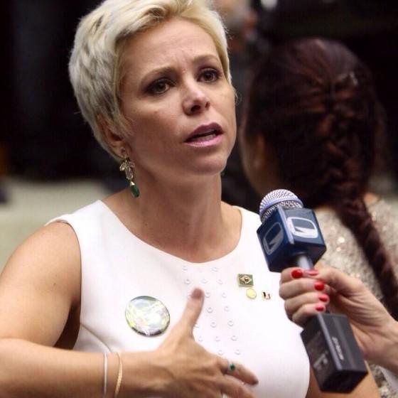 A deputada Cristiane Brasil (PTB-RJ) (Foto: Divulgação)