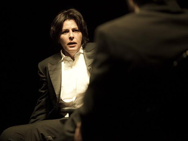 Cena da peça 'Dueto para Um', com direção de Mika Lins (Foto: Divulgação)