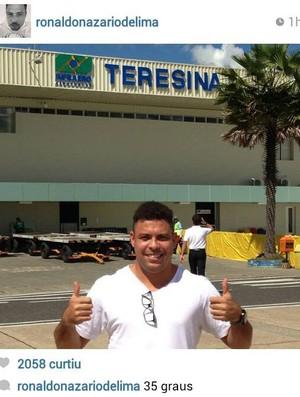 Ronaldo - Instagram - Teresina (Foto: Reprodução/Instagram)
