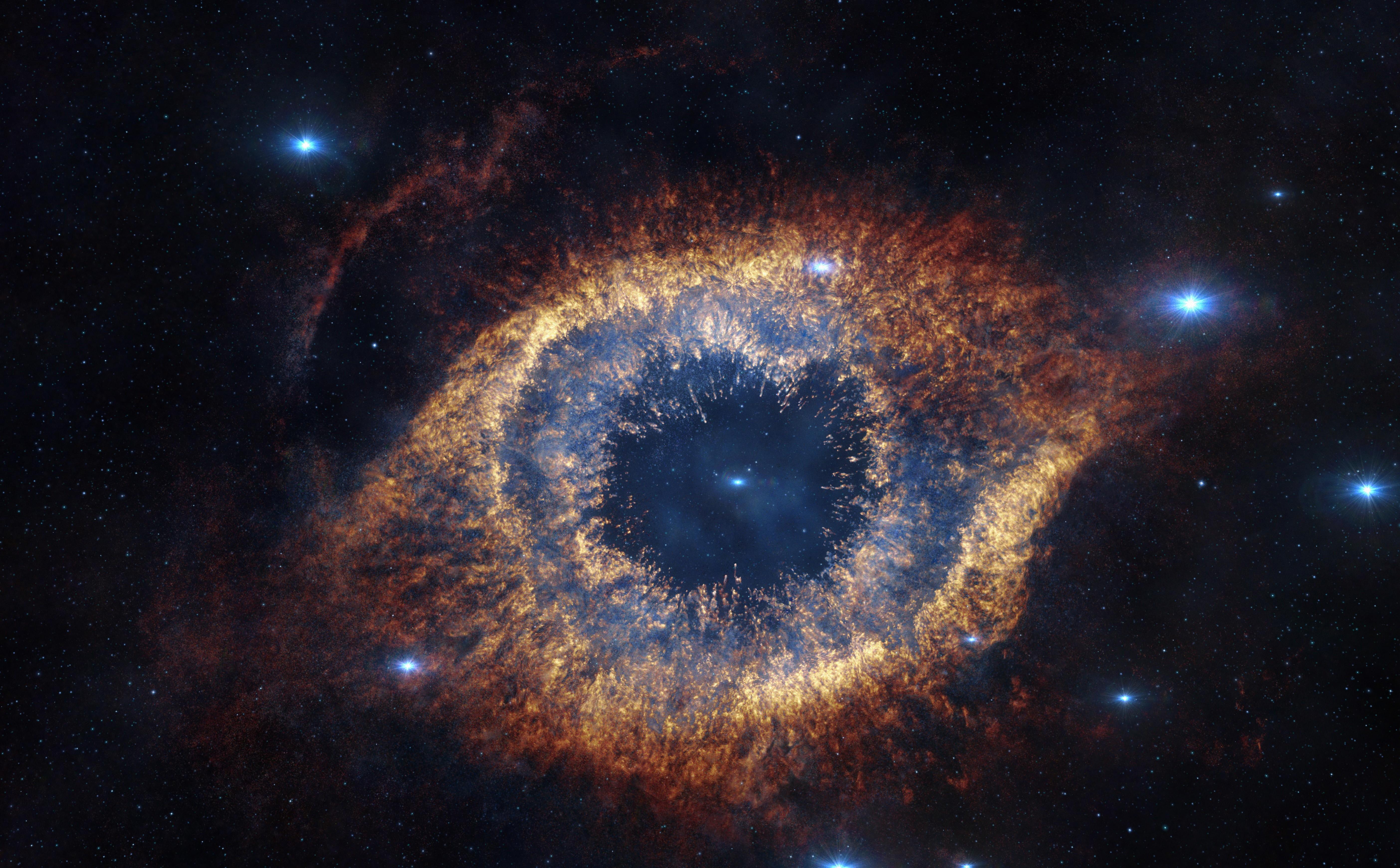 A nebulosa helix (Foto: wikimedia commons)