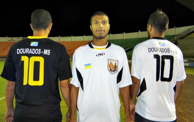 Detalhe das costas do uniforme do Ubiratan (Foto: Divulgação/Ubiratan)