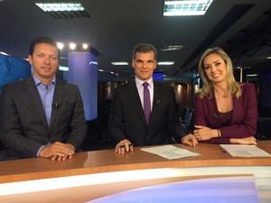 Nelson Marchezan Júnior (PSDB) concedeu entrevista ao RBS Notícias (Foto: Fabiana Bonugli/G1)