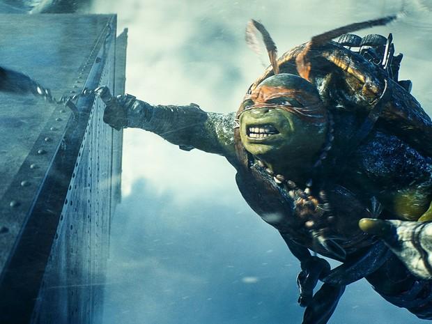 Michelangelo em 'As Tartarugas Ninja' (Foto: Divulgação/Paramount)