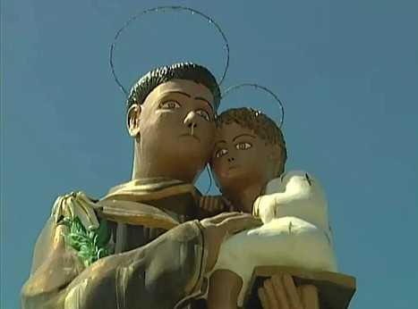 Município é o único da América Latina que possui relíquias do santo (Foto: Jornal do Amazonas)