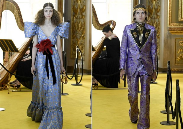 Gucci Cruise 2018 featured looks for men and women (Foto: COURTESY OF GETTY IMAGES FOR GUCCI)